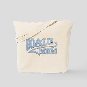 Hockey Goalie Mom Athletic Tail Tote Bag