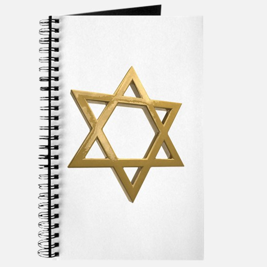 gold hanukkah star of david Journal