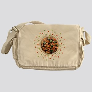 Pizza Party Messenger Bag