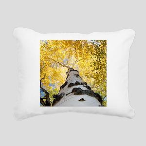 Aspen Tree Rectangular Canvas Pillow
