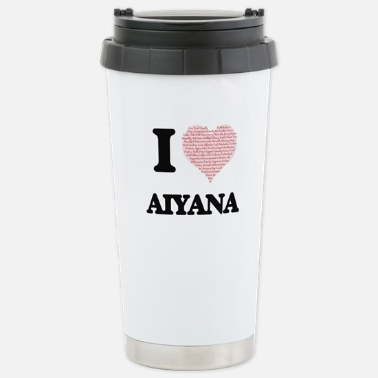 Aiyana Stainless Steel Travel Mug