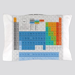 Periodical Table Of Elements Pillow Case