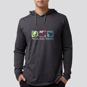 Peace, Love, Doodles Long Sleeve T-Shirt