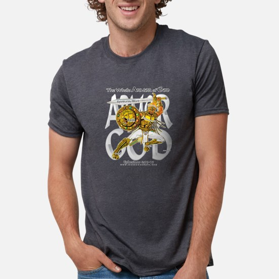 Whole Armor of God--Silver T-Shirt