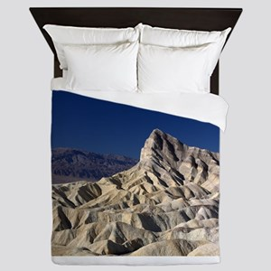 Manly Beacon, Death Valley NP, viewed Queen Duvet