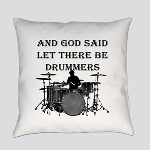 Drummers God Made Everyday Pillow