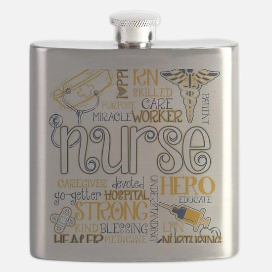 Unique Nurse Flask