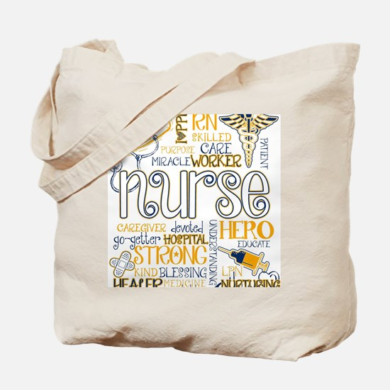 Unique Nurse Tote Bag