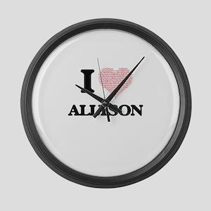 Allyson Large Wall Clock