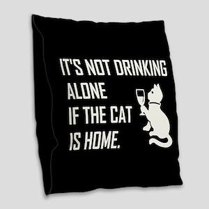 IT'S NOT... Burlap Throw Pillow