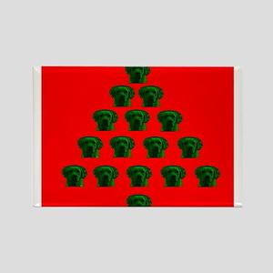 Labrador Christmas Tree Melissa's Fave Magnets