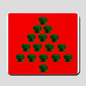 Labrador Christmas Tree Melissa's Fave Mousepad