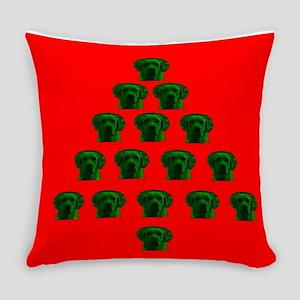 Labrador Christmas Tree Melissa's Everyday Pillow