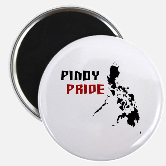 """Pinoy Pride - back 2.25"""" Magnet (10 pack)"""