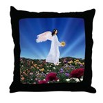November Angel : Throw Pillow