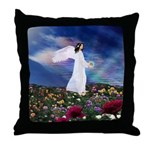 October Angel : Throw Pillow