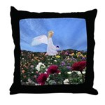 September Angel : Throw Pillow