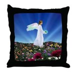 August Angel : Throw Pillow