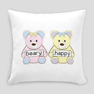 Beary Happy Everyday Pillow