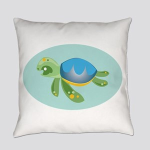 Turtle Everyday Pillow