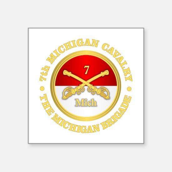7th Michigan Cavalry Sticker
