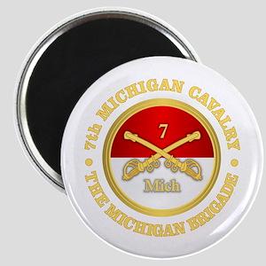 7th Michigan Cavalry Magnets