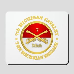 7th Michigan Cavalry Mousepad