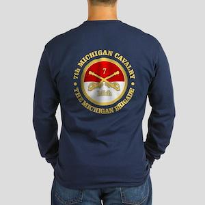 7th Michigan Cavalry Long Sleeve T-Shirt