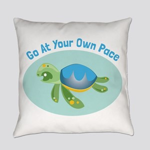 Go at Your Own Pace Everyday Pillow
