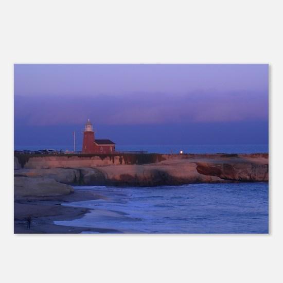 Santa Cruz Lighthouse Postcards (Package of 8)