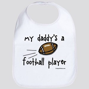 my daddy's a football player Bib