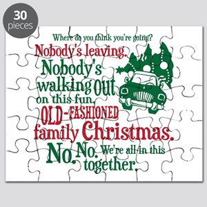 Family Christmas Puzzle