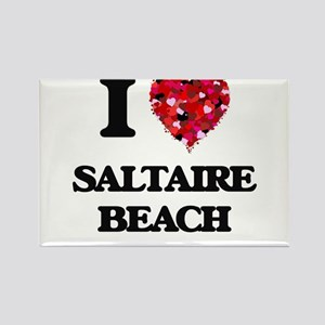 I love Saltaire Beach New York Magnets
