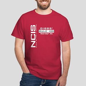 NICS Gibbs' Rule 28 Dark T-Shirt