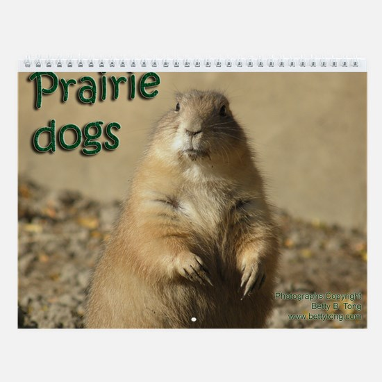 Prairie Dogs Wall Calendar