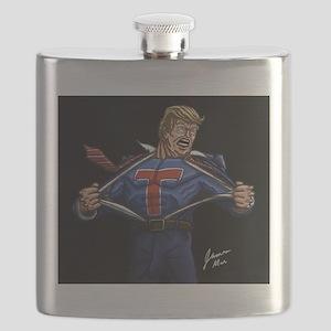Super Trump! Flask