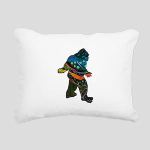 SQUATCH MANIA Rectangular Canvas Pillow