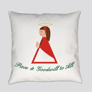 Goodwill To All Everyday Pillow
