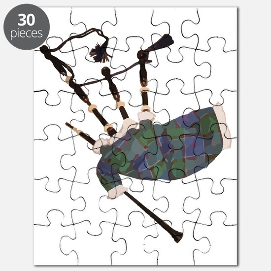 Cute Bagpipes Puzzle