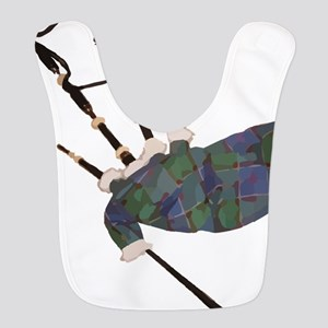 tartan plaid scottish bagpipes Bib