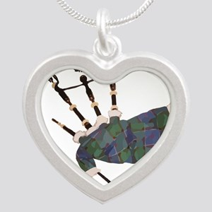 tartan plaid scottish bagpipes Necklaces