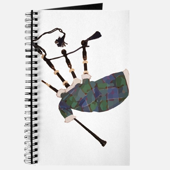 tartan plaid scottish bagpipes Journal