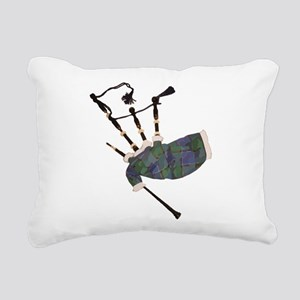 tartan plaid scottish ba Rectangular Canvas Pillow