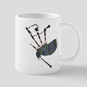 tartan plaid scottish bagpipes Mugs
