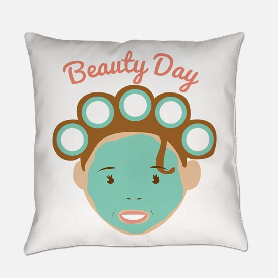 Beauty Day Everyday Pillow