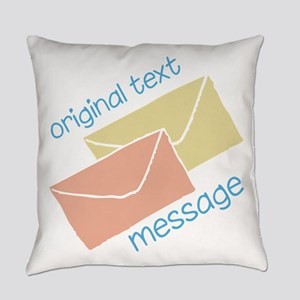 Text Message Everyday Pillow