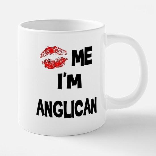Kiss Me I'm Anglican Mugs