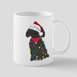 Christmas Labradoodle 11 oz Ceramic Mug