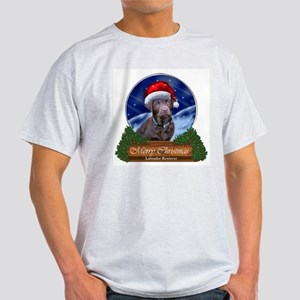 Labrador Retriever Christmas White T-Shirt
