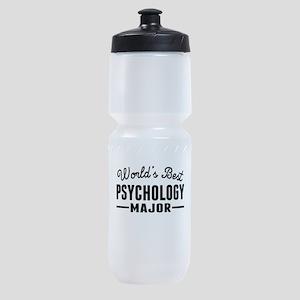 Worlds Best Psychology Major Sports Bottle